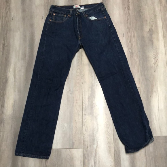 Levi's Other - Levi's Mens 501 Straight Jeans W34 L32